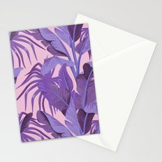 Tropical '17 - Starling [Banana Leaves] Stationery Cards