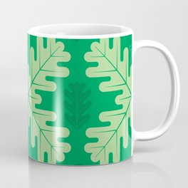 Oak Leaves in Summer – Green Coffee Mug