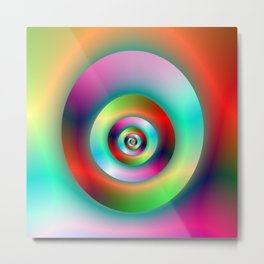 Torus Without and Within the Hole Metal Print