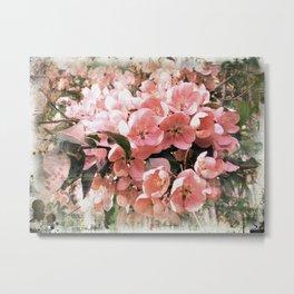 Sakura style Metal Print