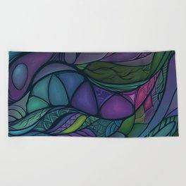 Flow of Time Beach Towel