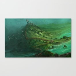 Serpentine Canvas Print