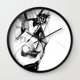 Ball Gagged Wall Clock