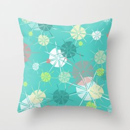 Floating on Memories Throw Pillow