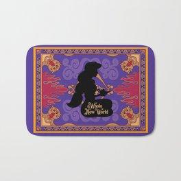 Jasmine silhouette - A whole new world Bath Mat
