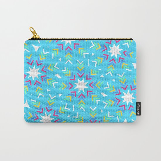 Decoration in blue Carry-All Pouch