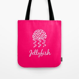 Jellyfish Pink Tote Bag