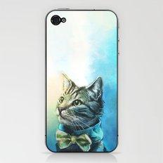 Handsome Cat iPhone & iPod Skin