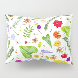 Leaves and flowers (9) Pillow Sham