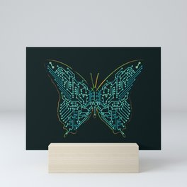 Mechanical Butterfly Mini Art Print