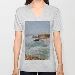 california coast ii / santa cruz Unisex V-Neck