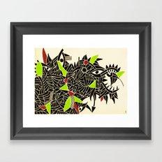 - dynamic rats - Framed Art Print