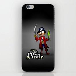 Talk like a Pirate iPhone Skin