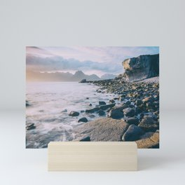 Elgol Beach VII Mini Art Print