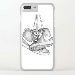 Sneakers Clear iPhone Case