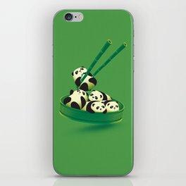 Panda Dumpling iPhone Skin
