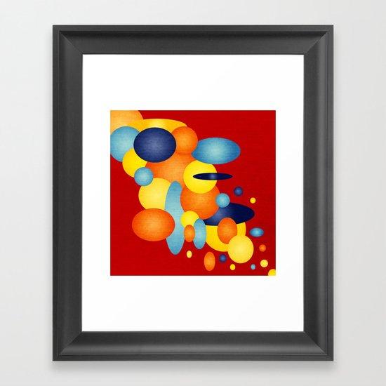 Retro Show Off!  Framed Art Print