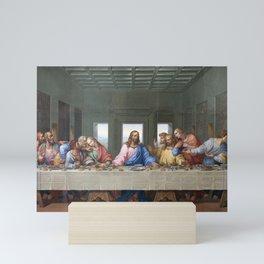 The Last Supper by Leonardo da Vinci Mini Art Print