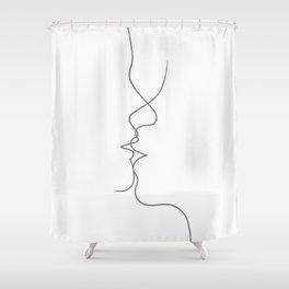 Love & DNA Shower Curtain
