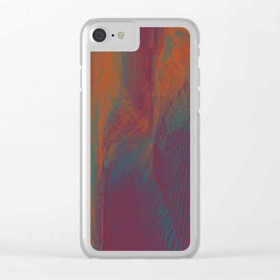 Satiated Clear iPhone Case