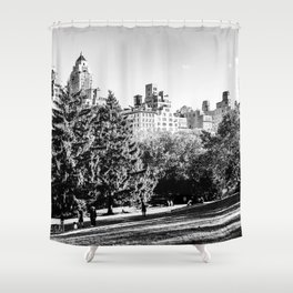 Central Park NYC Shower Curtain
