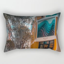 Miami Design District ArtChitecture Rectangular Pillow
