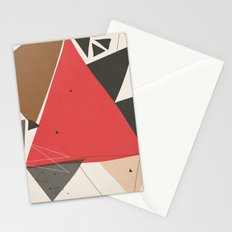 Exploding Triangles//Two Stationery Cards