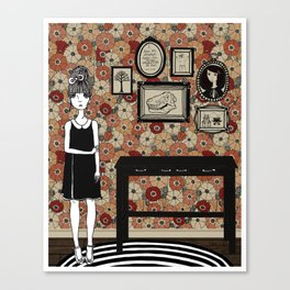 Madeleine's Hallway Canvas Print