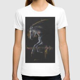 Andalusian horse art T-shirt