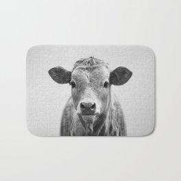 Cow 2 - Black & White Bath Mat