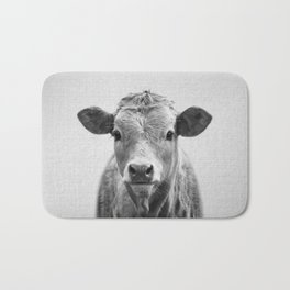 Cow 2 - Black & White Bath Mat
