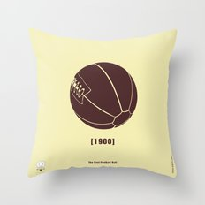 1900 Throw Pillow