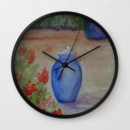 Cobalt Fountain WC151209b-13 Wall Clock