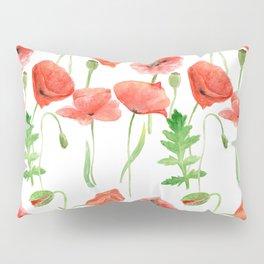 Poppies pattern Pillow Sham