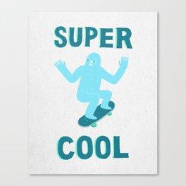 Super Cool Canvas Print