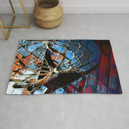 Basketball art print vs 5 Rug