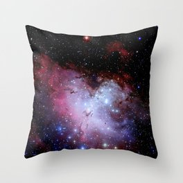 Eagle Nebula / pillars of creation Throw Pillow
