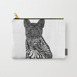 """Rocco"" - French Bulldog Ink Zendoodle Carry-All Pouch"