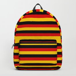 Germany Flag German Patriotic Backpack