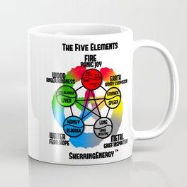The Five Elements by SherringEnergy Coffee Mug