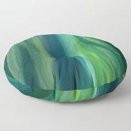 Green Magic Floor Pillow
