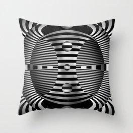 Wheel of Samsara Throw Pillow