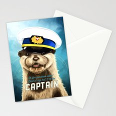 Captain Otter Stationery Cards