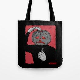 Pumpkin guy Tote Bag
