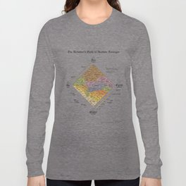 The Alchemist's Guide to Alcoholic Beverages (for light shirts) Long Sleeve T-shirt