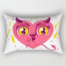 Devil heart Rectangular Pillow