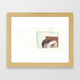 Eh. Framed Art Print