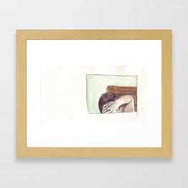 Eh. Framed Art Print