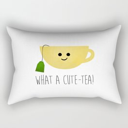 What A Cute-tea Rectangular Pillow