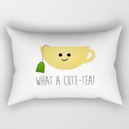 What A Cute-tea Rectangular Pillow